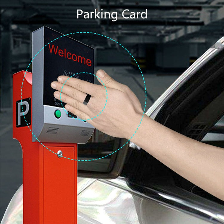Smart Ring Use as Parking Card