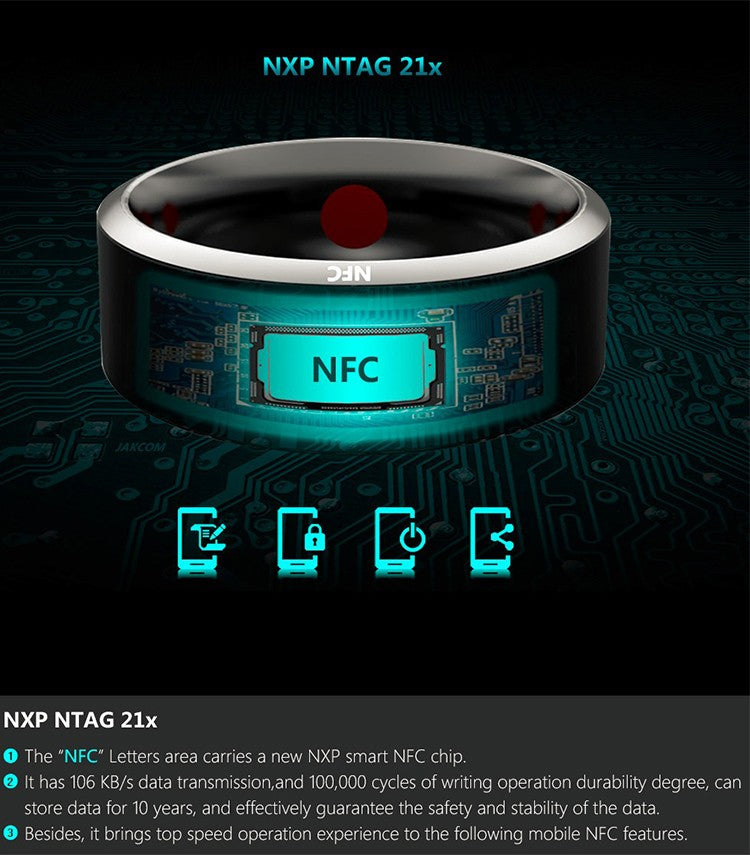NFC chip Features of Smart Ring