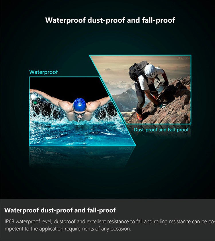 Water & Dust Proof Smart Ring