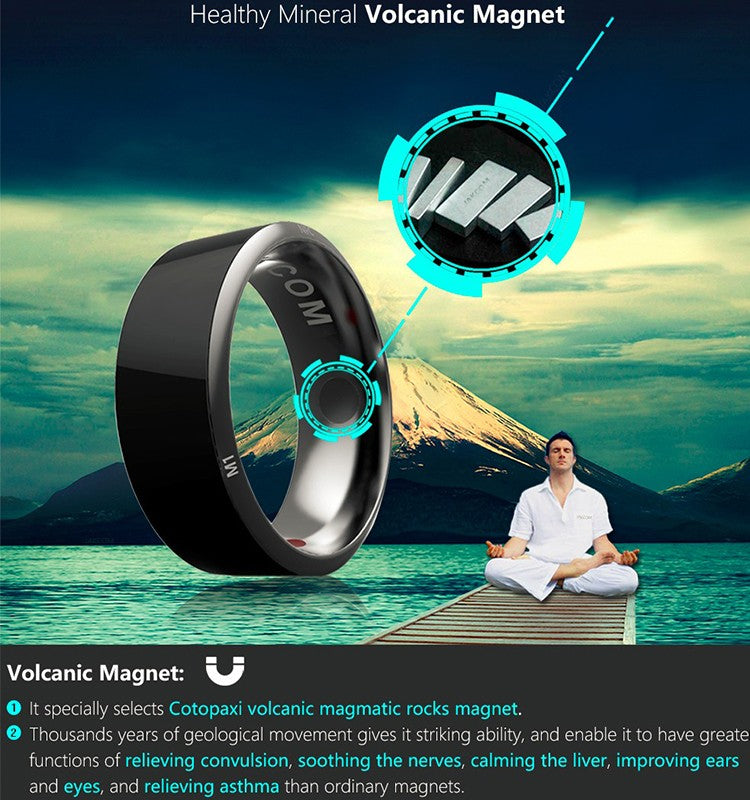 Volcanic Magnet benefits of Smart Ring