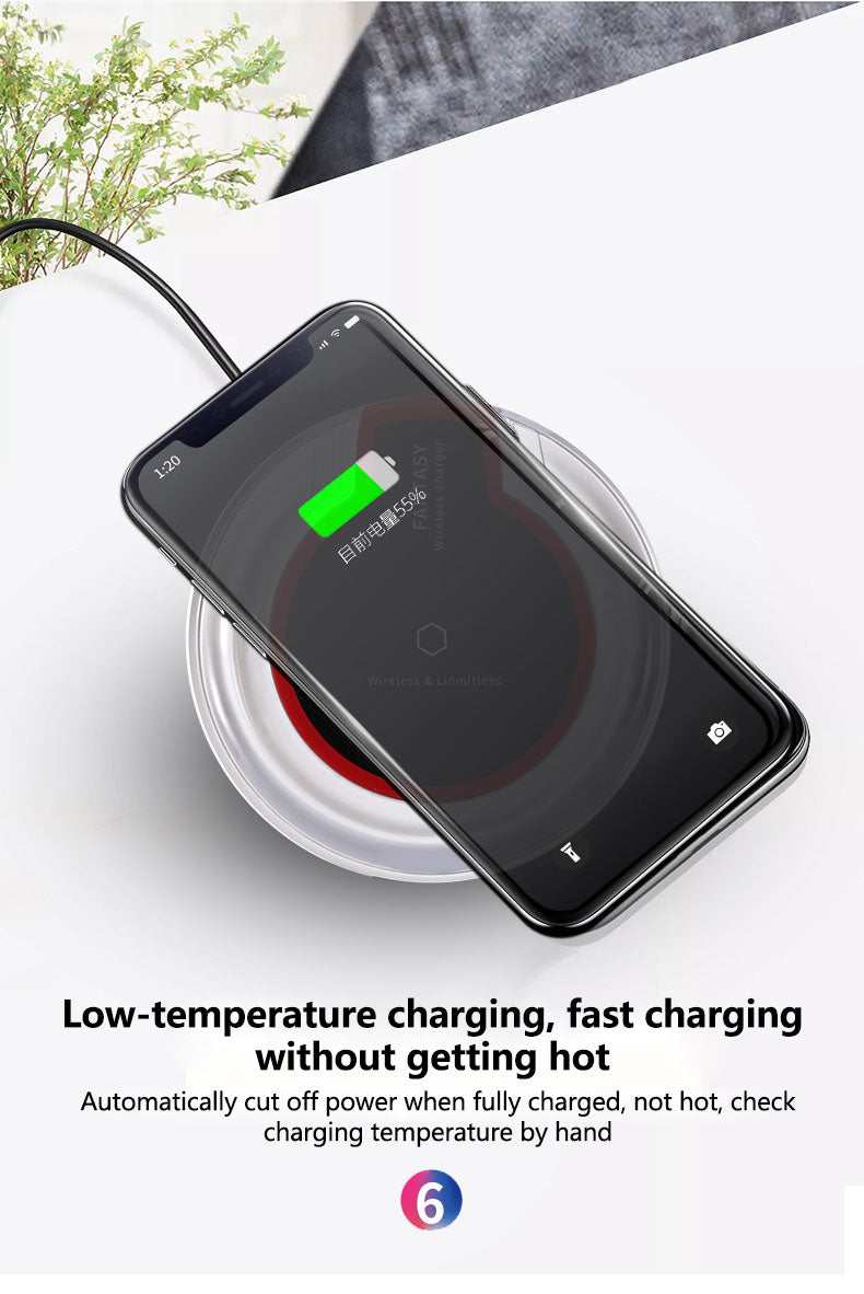 low temperature charging | wireless charger