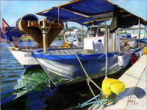 FISHERMAN BOATS, GANDIA, SPAIN