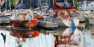 BOATS AT VICTORIA HARBOR, BELLEVILLE