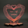 Tisch-LED-Lampe - Bodies Heart