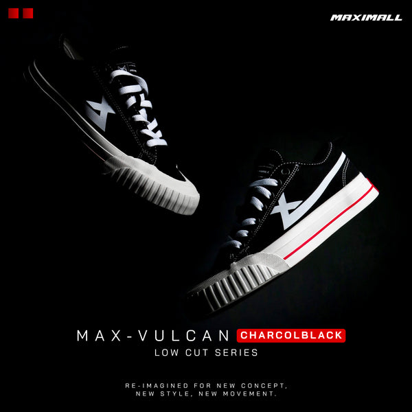 Maximall Max-Vulcan White Low Cut Series