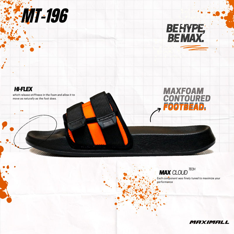 Maximall MT-196 Monarch Orange