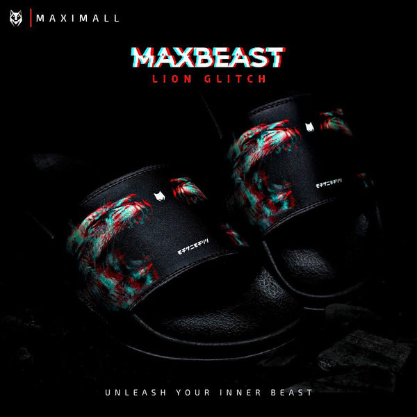 Maximall Max-Beast Lion Glitch Series