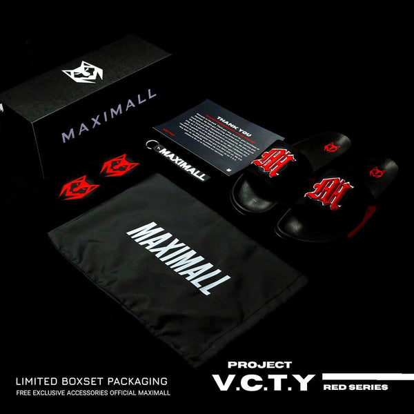 Maximall Project V.C.T.Y Black Red Series