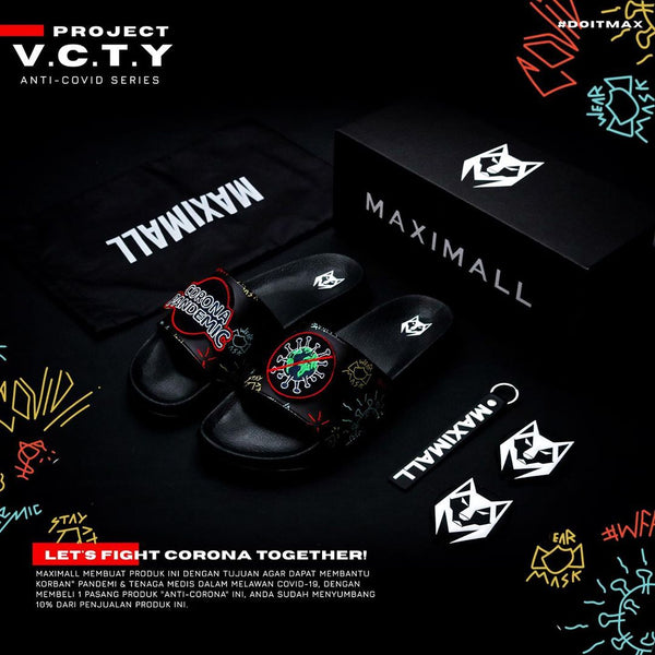 Maximall Project V.C.T.Y Anti-Corona Virus Series Red
