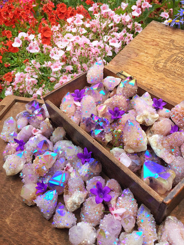 Spirit Aura Quartz