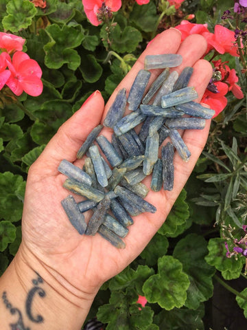 Small Kyanite pieces