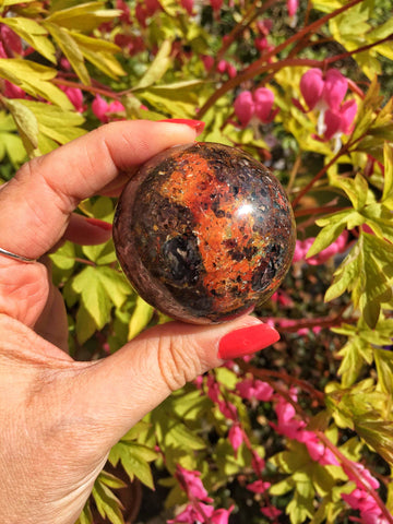 Ocean Jasper sphere 51mm (#6)