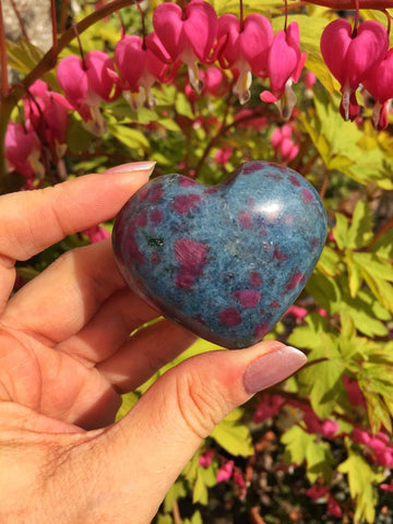 Ruby In Kyanite Hearts