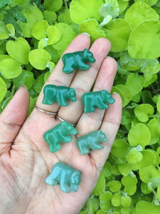 Mini aventurine bears