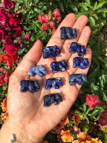 mini sodalite bears