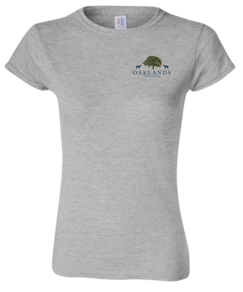 Oaklands Equestrian Round Ladies Tshirt