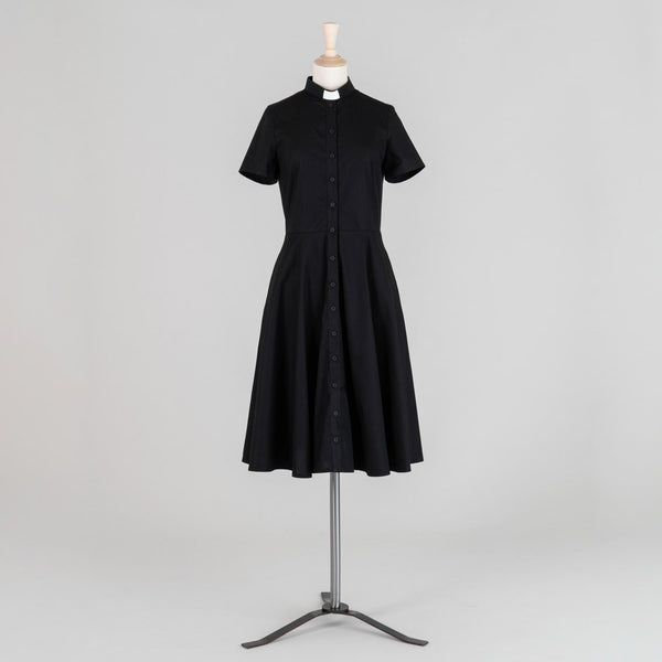 Black Liberty Shirt Dress - Watts & Co. (international)