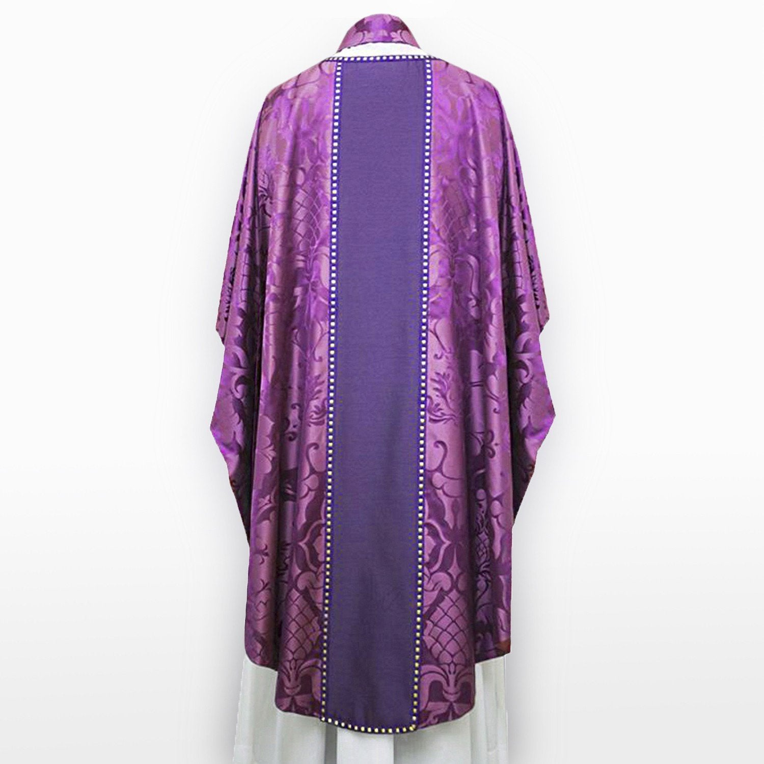 Classic Chasuble in Purple Bellini - Watts & Co. (international)