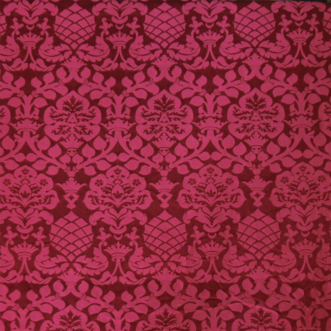 Davenport Damask - Red - Watts & Co. (international)