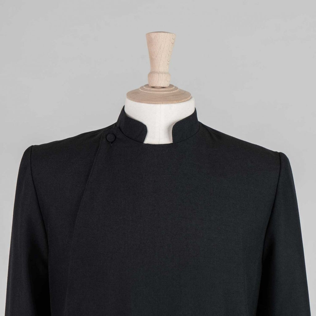 Double Breasted Readers Cassock<br>Lightweight Poly Wool (45% Wool) - Watts & Co. (international)