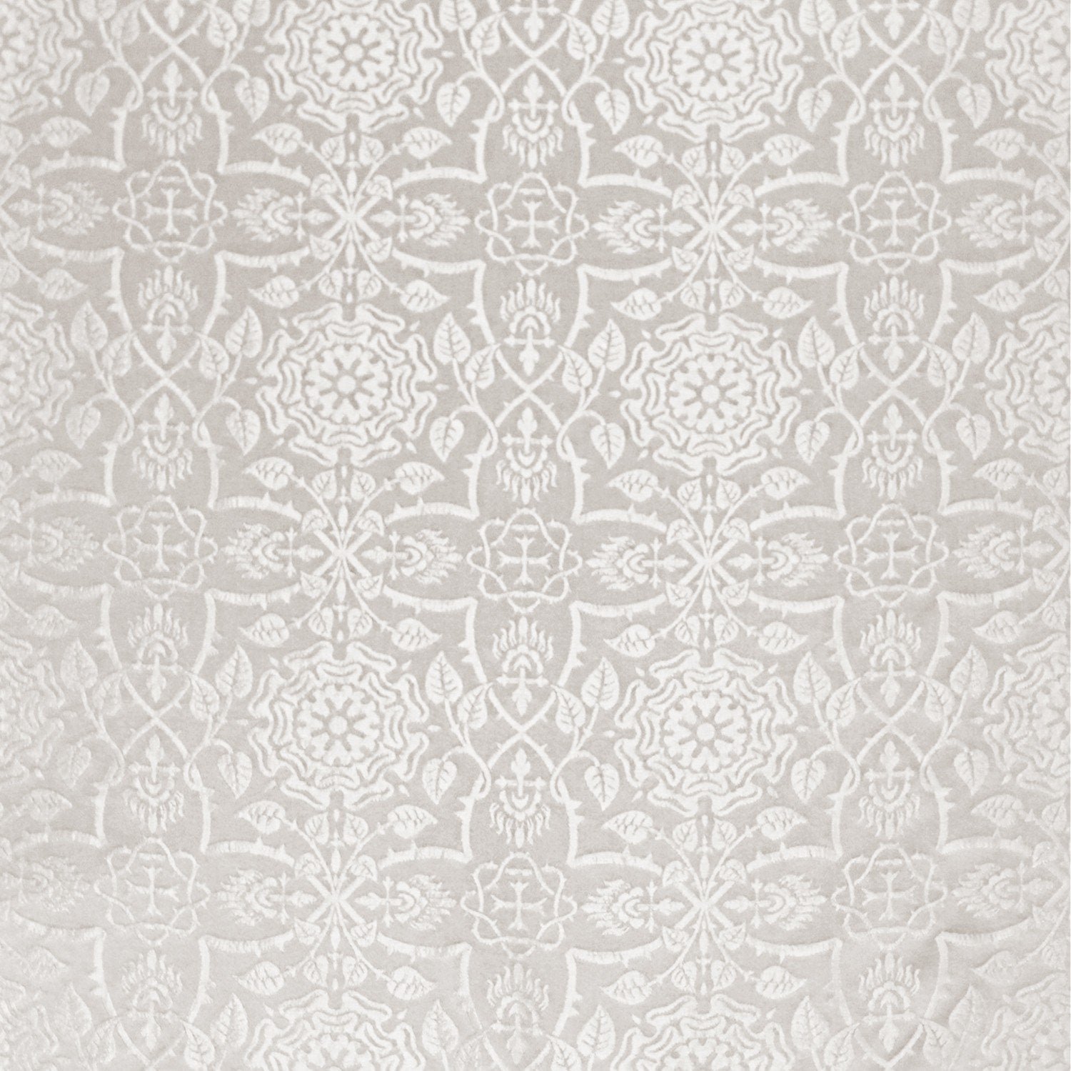 Glastonbury Brocade – Ivory - Watts & Co. (international)