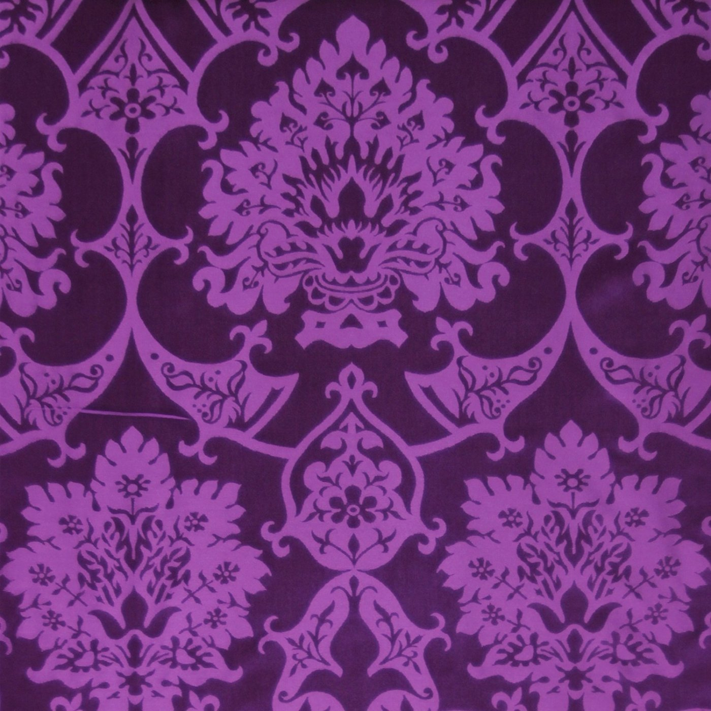 Gothic Dalmatic in Royal Purple Gothic with Green St Nicolas Orphreys - Watts & Co. (international)
