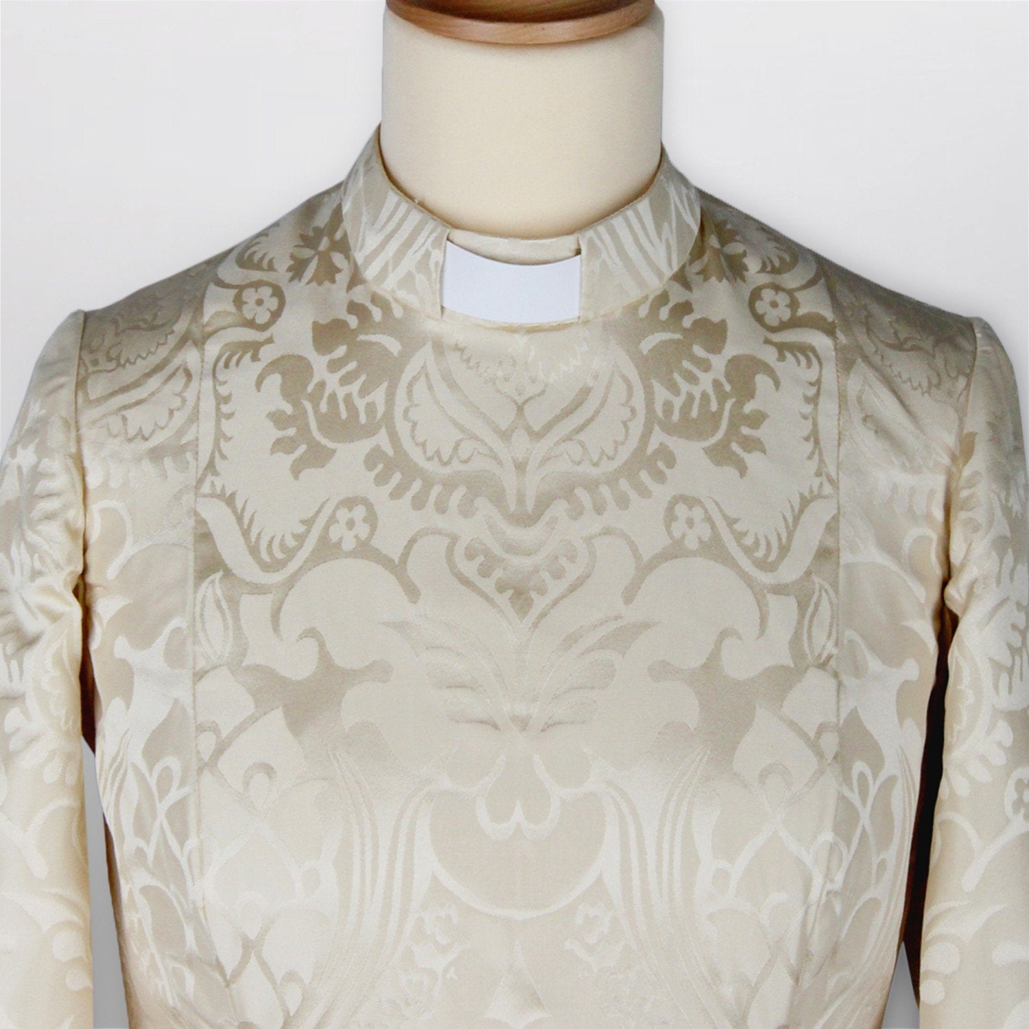 Isabella silk bespoke clergy dress - Watts & Co. (international)