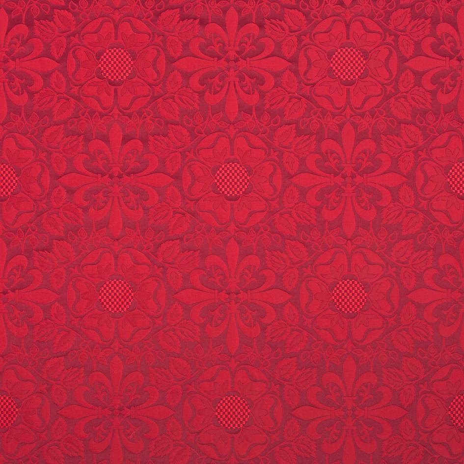 Lichfield Brocade - Red - Watts & Co. (international)
