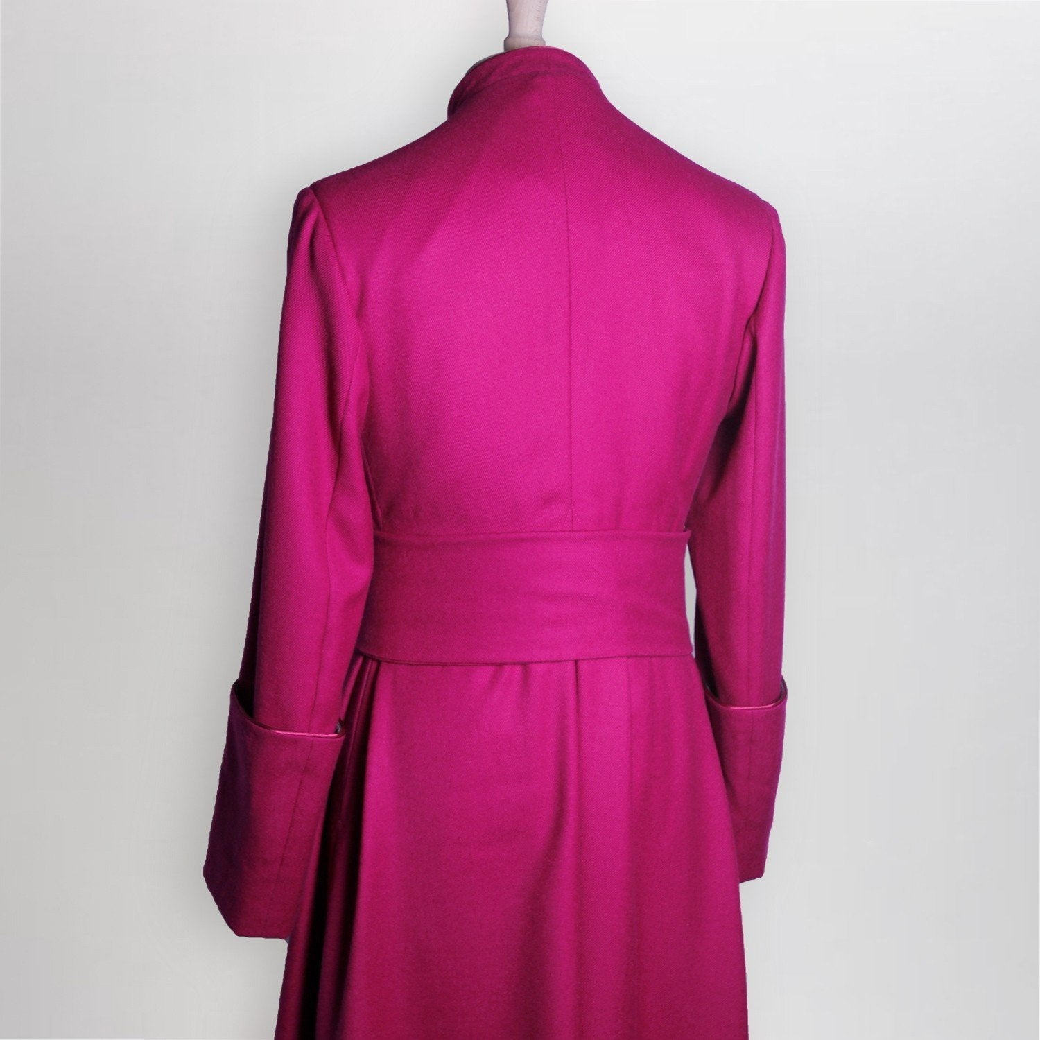 Made to Measure Single Breasted Roman Purple Cassock - Watts & Co. (international)