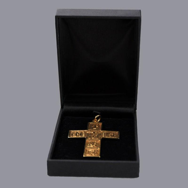 Neck Cross - Spanish Style - Silver Gilt - Watts & Co. (international)