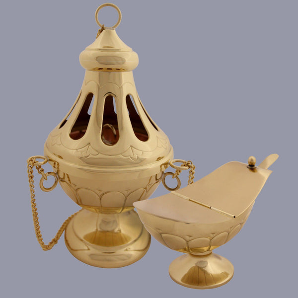 Nicea Thurible and Boat - Watts & Co. (international)