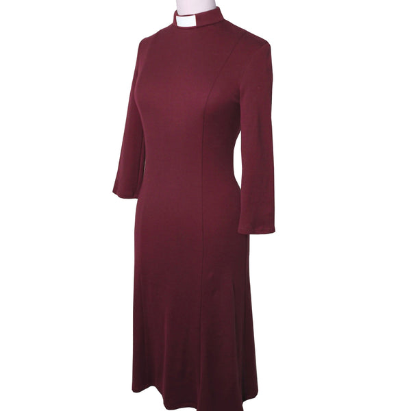 Organic cotton wine clergy dress - Watts & Co. (international)