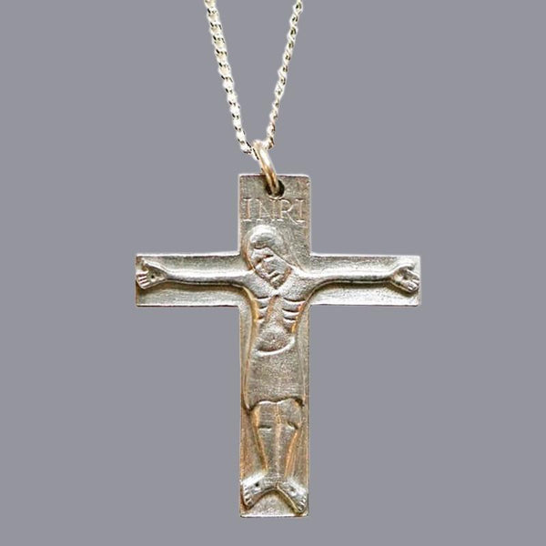 Pewter Crucifix, 1.5