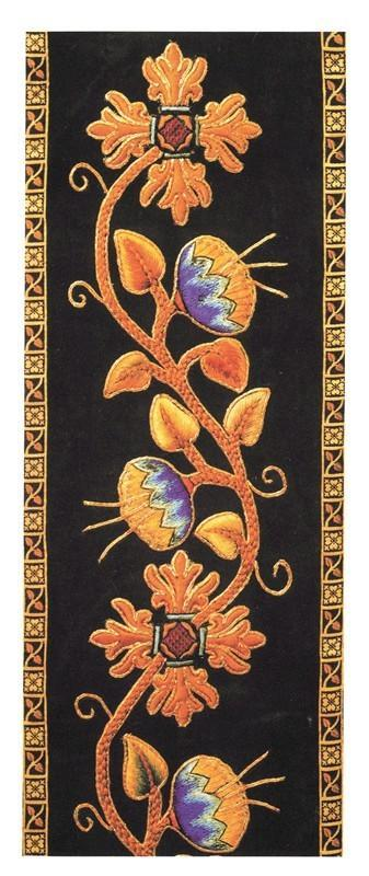 Religious card, embroidery - Watts & Co. (international)