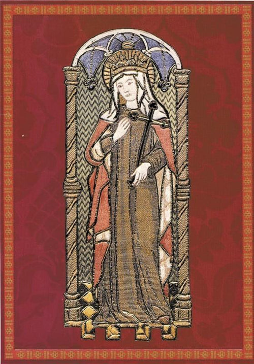 Religious card, St Agnes - Watts & Co. (international)