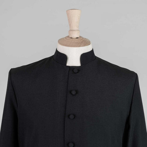 Single Breasted Readers Cassock<br>Lightweight Poly Wool (45% Wool) - Watts & Co. (international)