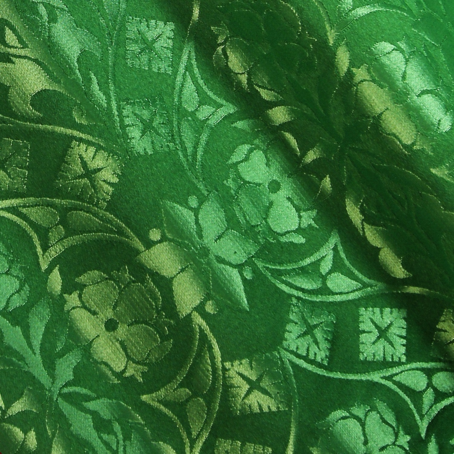 St. John Damask - Green - Watts & Co. (international)