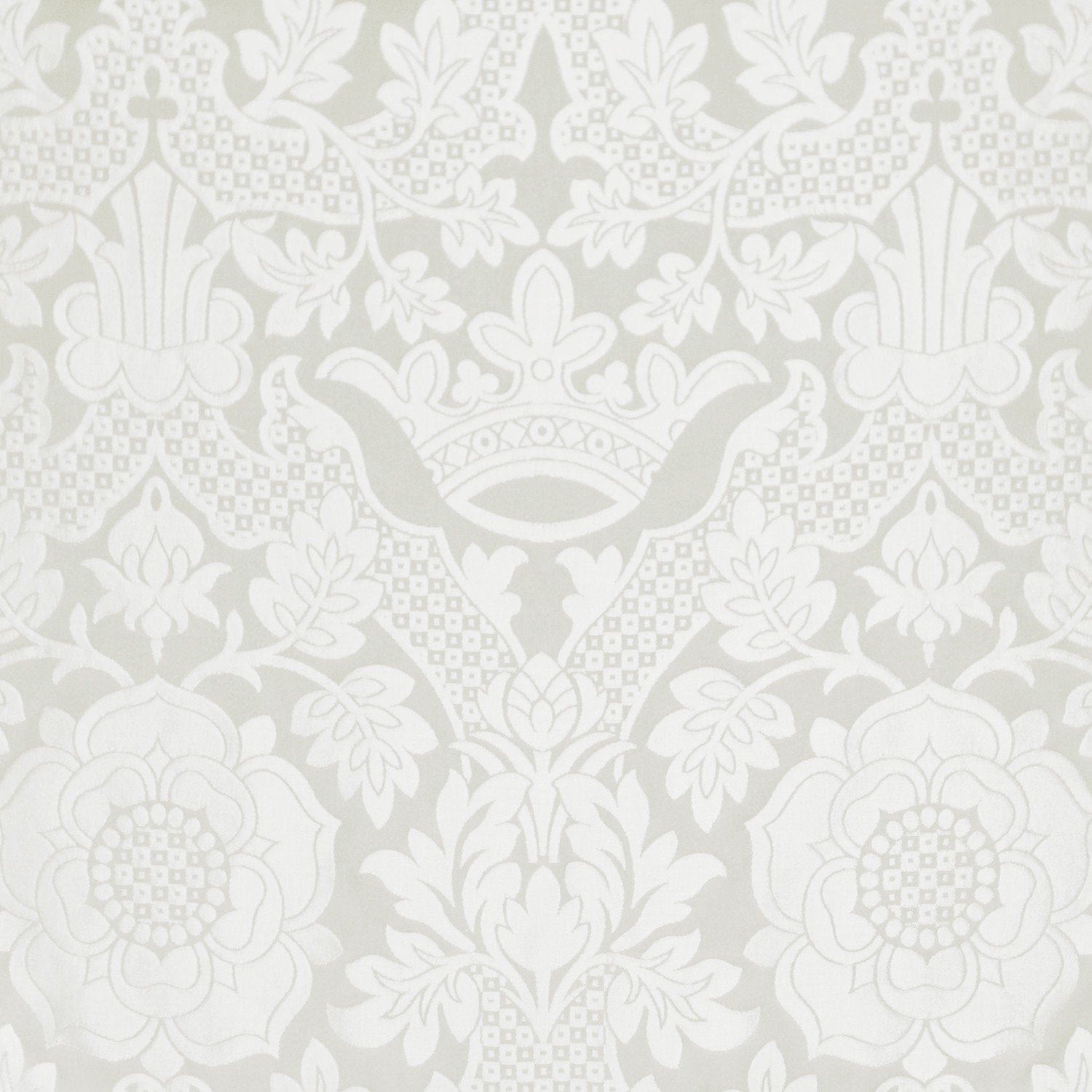St Margaret Brocade - White - Watts & Co. (international)