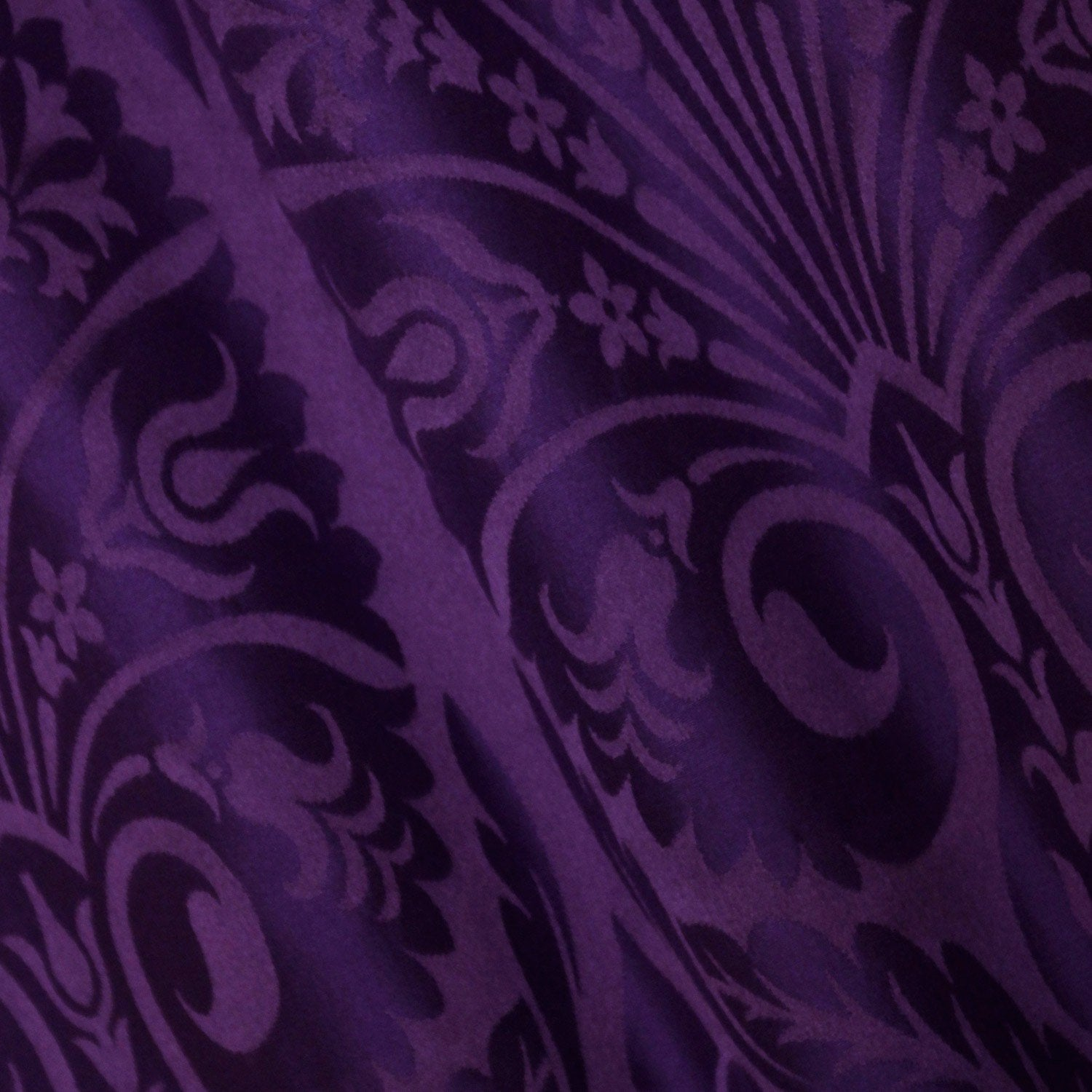 St Nicolas Damask - Violet - Watts & Co. (international)