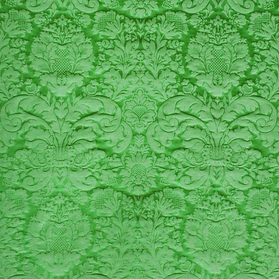 Truro Damask - Green - Watts & Co. (international)