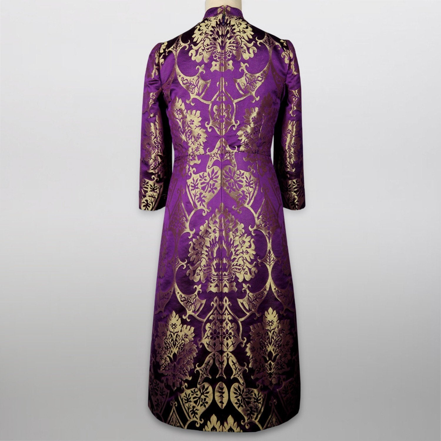 Victoria bespoke silk clergy dress - Watts & Co. (international)
