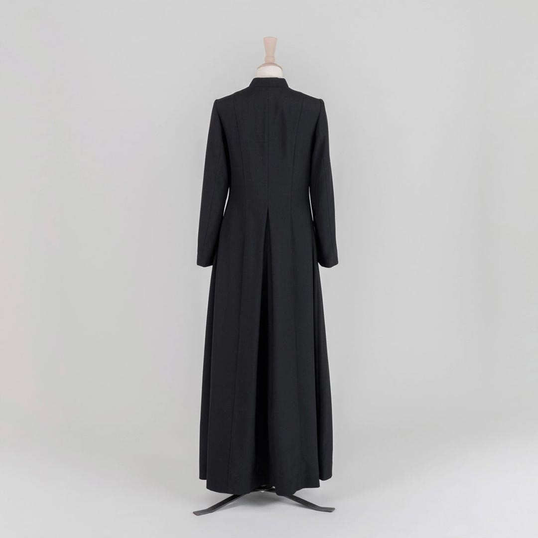 Women's Double Breasted Readers Cassock<br>Lightweight Poly Wool (45% Wool) - Watts & Co. (international)
