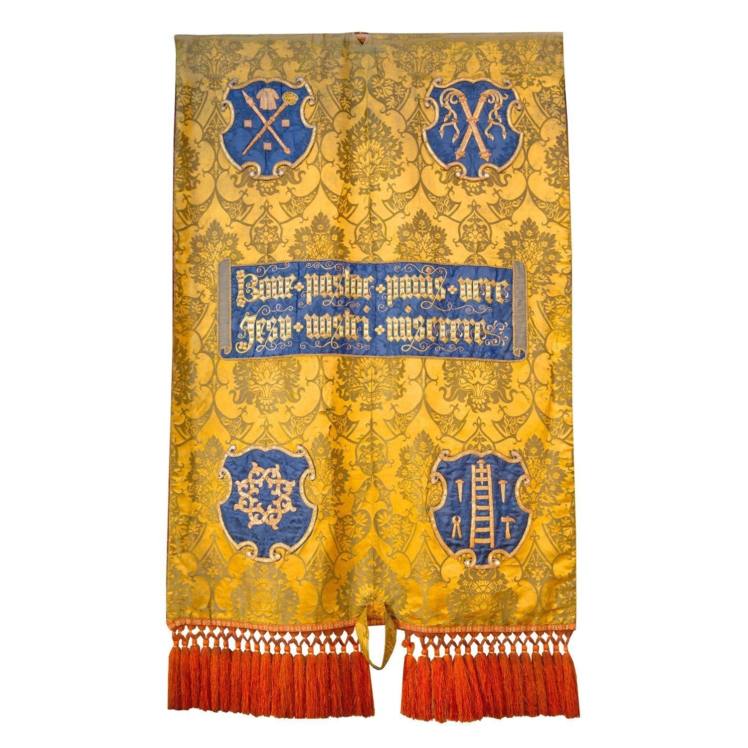 Yellow processional banner - Watts & Co. (international)