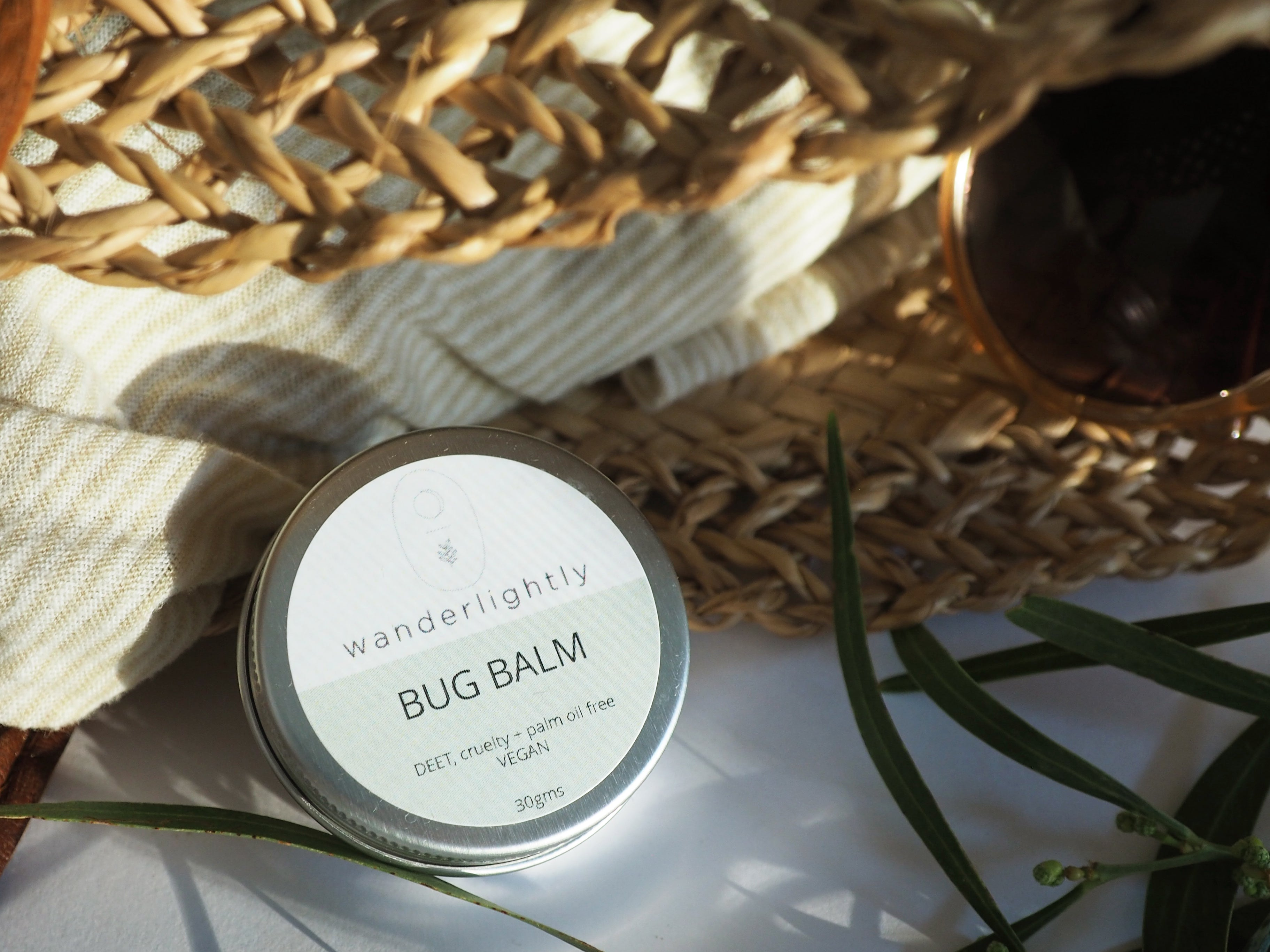 30g Bug Balm in plastic free tin.