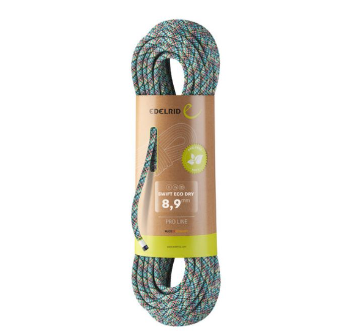 Swift Eco Dry 8.9mm Climbing Rope - Toitu
