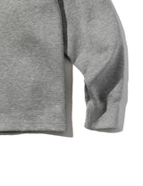 BIB DOUBLE KNIT L/S TEE GREY