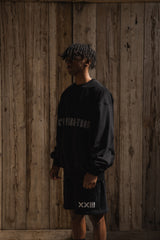 CVT LOGO CREW SWEAT BLK