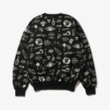 GRAFFITI CREW SWEAT BLK