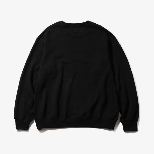 CREW SWEAT BLK/BLK