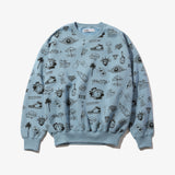 GRAFFITI CREW SWEAT BLUE